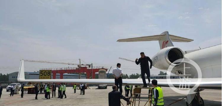 2.9亿元的私人飞机机翼 被砸个洞,为啥维修要花