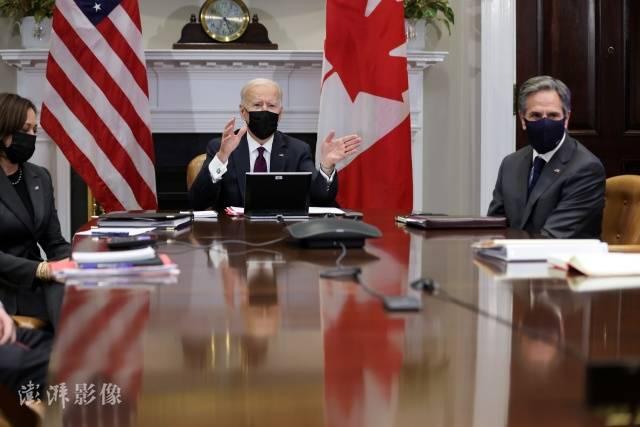 拜登:美国和加拿大已经与特鲁多达成协议,承诺到2050年实现净零排放