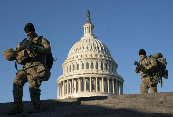 美国会动乱后很多警员考虑到辞职:对领导阶层欠缺信赖