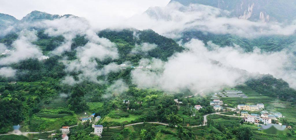 当云海遇上山村 才是田园最美的样子