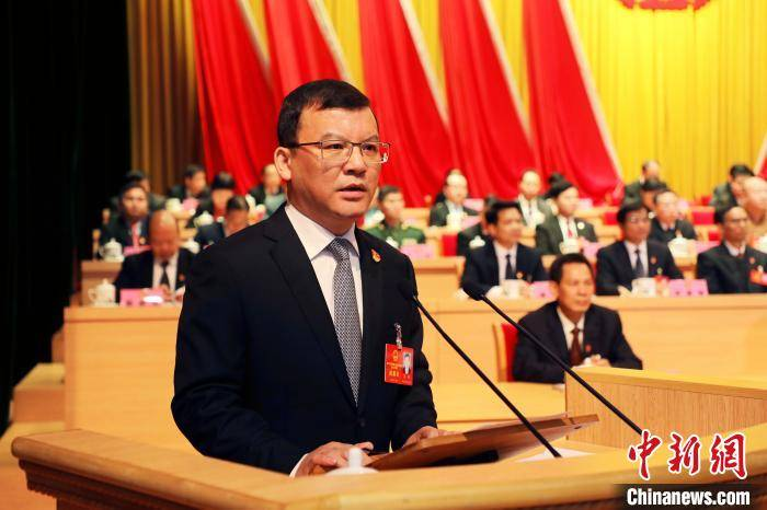 蓝晓当选广西贵港市市长