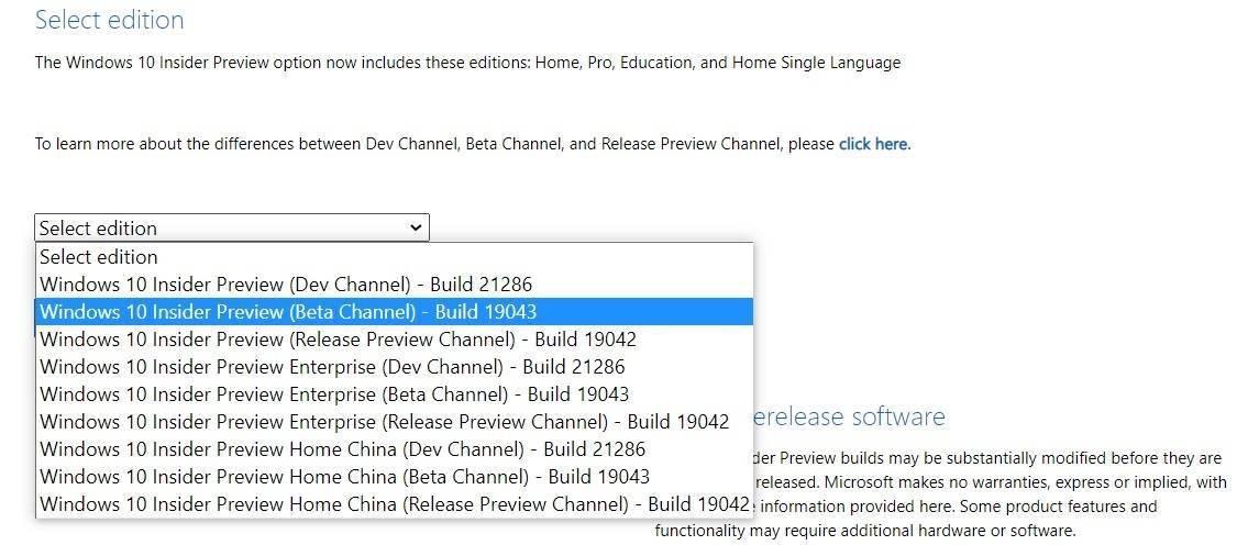 微软 Win10 21H1 ISO 官方镜像预览版下载