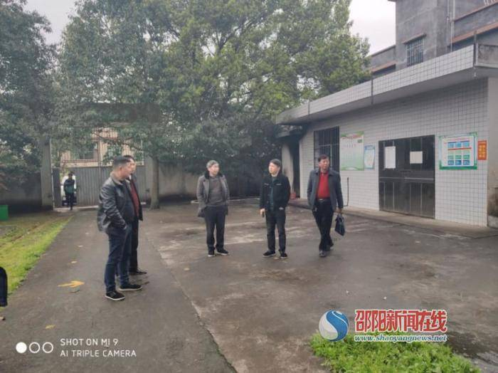新宁县教育局深入清江桥镇检查指导学校开学工作