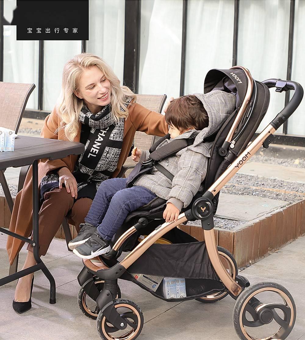 """宝宝的第一台豪华""""座驾"""",YOOM婴儿推车带来舒适出行新体验"""