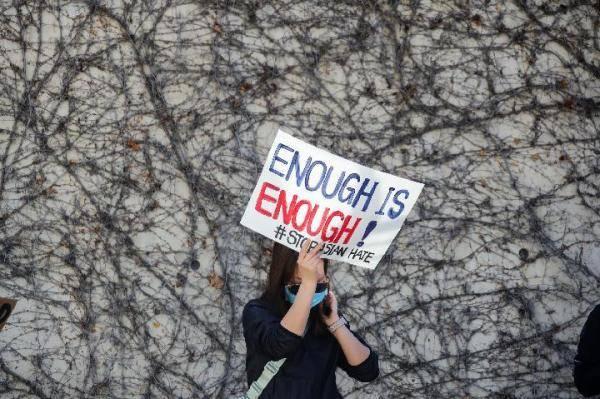 国际观察|歧视阴云下,美国亚裔的怒与哀