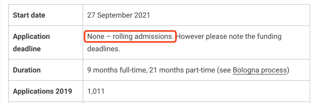 2021英国申请DDL截止时间汇总!