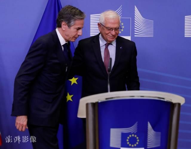 """美国欧盟发表联合声明:决定重启""""与中国有关的""""双边对话"""
