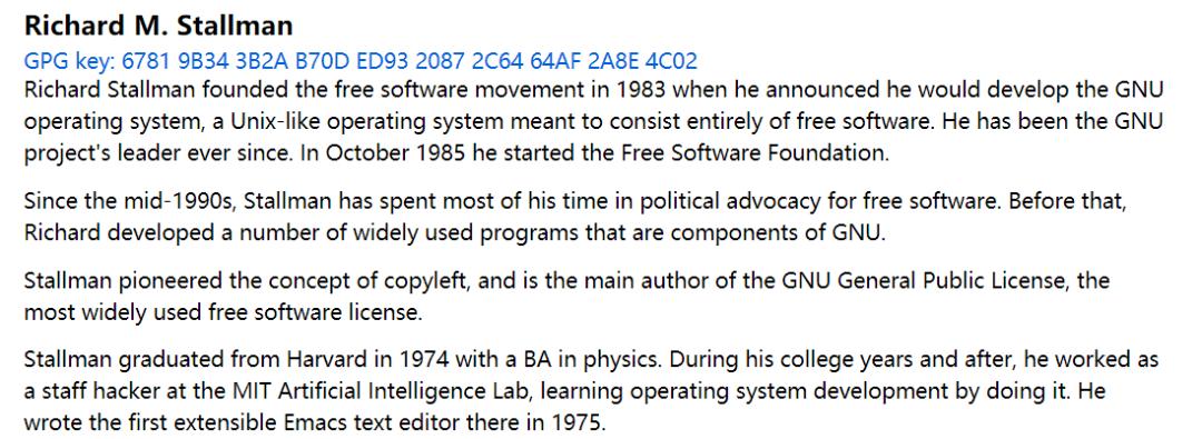 自由软件之父回归 FSF,遭 1933 人、21 家组织联名抵制!