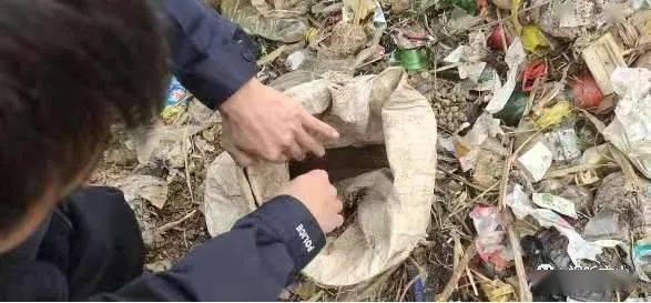 惊!云南一垃圾堆里发现2枚炮弹