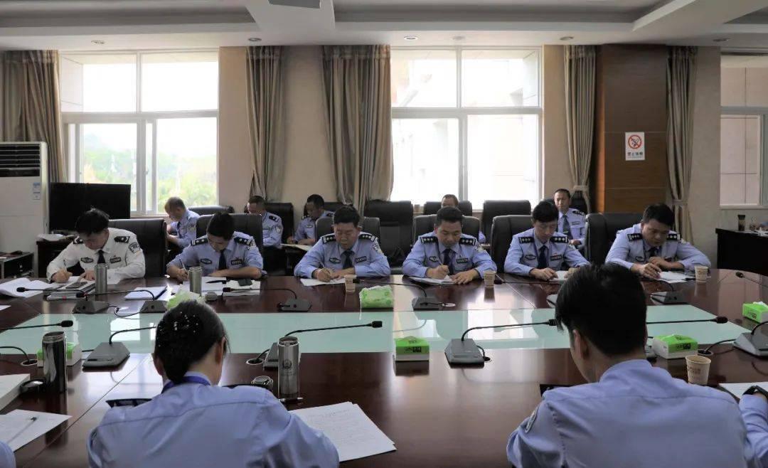 【队伍教育整顿】西双版纳监狱组织召开2021年度第五次党委理论学习中心组会议