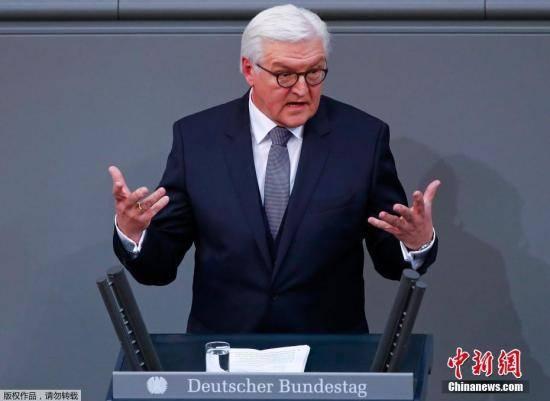 德国总统接种第一剂阿斯利康疫苗 鼓励民众接种疫苗