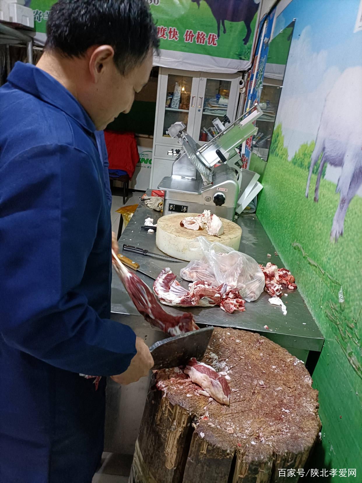 每逢佳节为什么越来越多的吃货选择吃陕北佳县羊肉!