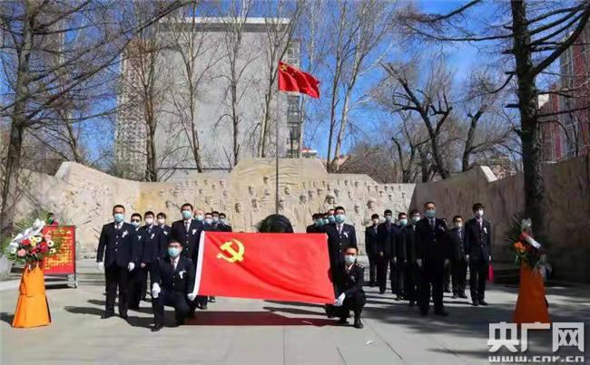 哈铁红色文化机车组开展主题祭扫活动 扎实推进党史学习教育
