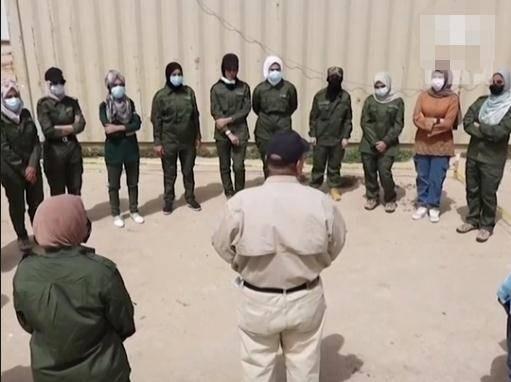 """盛图注册40天培训后,伊拉克首支全女性排雷队""""武装""""上岗(图1)"""