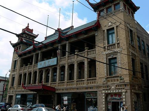 安良堂旧址