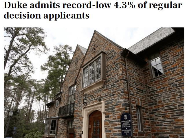 常春藤放榜!哈佛录取率3%,哥大大爆发!看这录取数据怕了怕了…