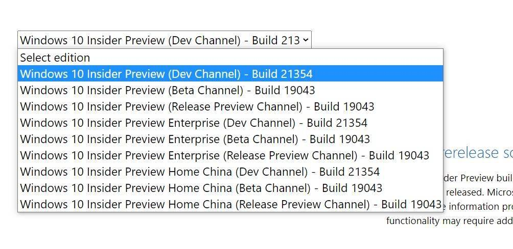 微软 Win10 Build 21354 ISO 官方镜像预览版下载