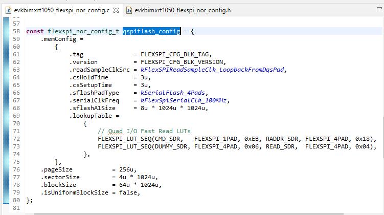 从头开始认识i.MXRT启动头FDCB里的lookupTable