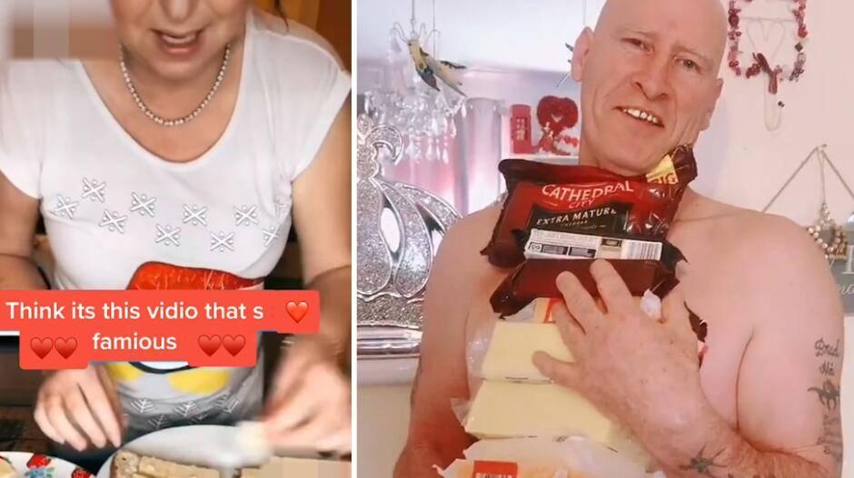 英国52岁男子每周要吃掉12斤奶酪 已持续25年