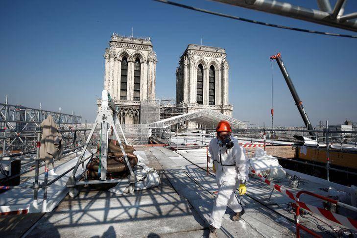 巴黎圣母院火灾两年:抓紧修复,计划2024奥运前重开