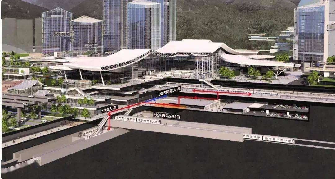 昆明铁路枢纽西客站建设最新进展!计划2025年建成