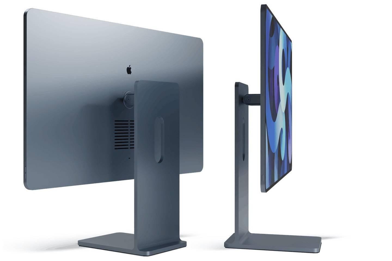 苹果 iMac 2021 款最新渲染图