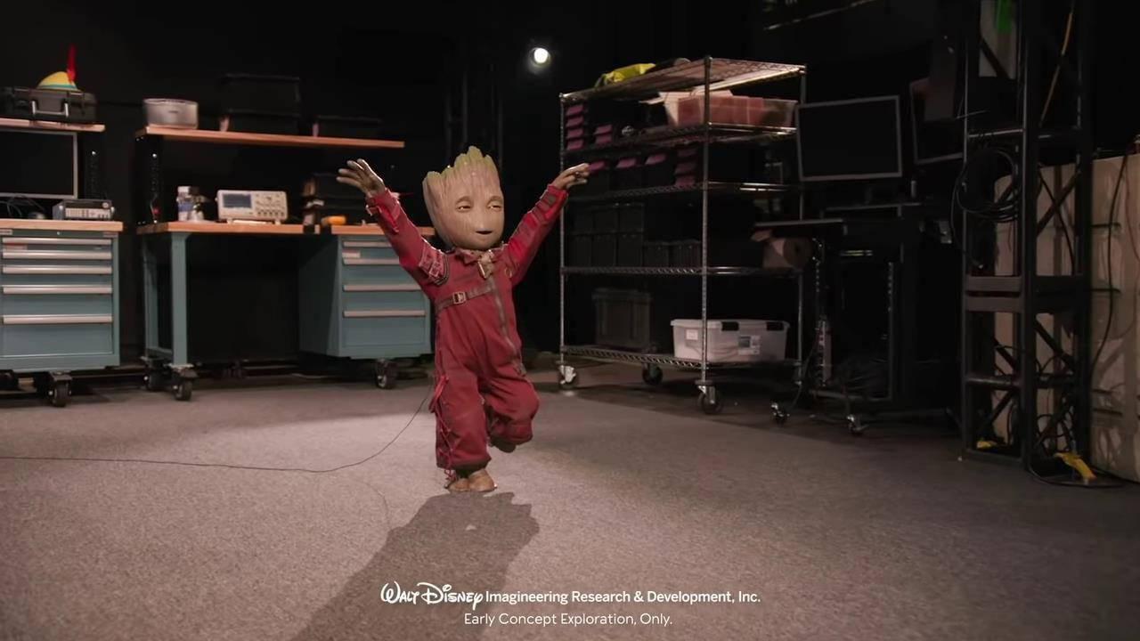 """迪士尼研发出《银河护卫队》""""格鲁特""""机器人"""