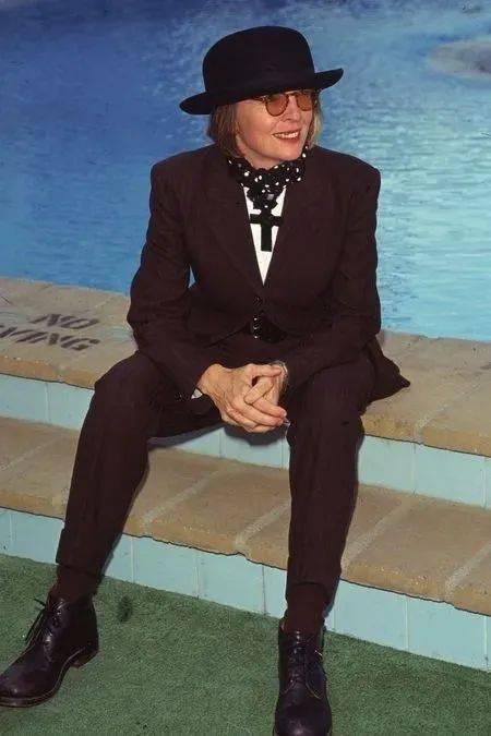 衣品||75岁还是最酷的女神 如何穿成戴安·基顿? 爸爸 第45张