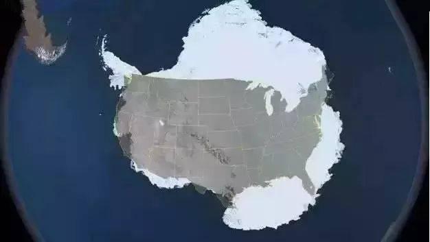 【地理视野】地理老师没有给你讲过这些罕见地图,因为可能会颠覆你的世界观  第13张