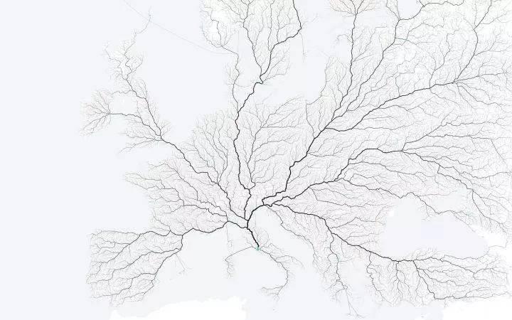 【地理视野】地理老师没有给你讲过这些罕见地图,因为可能会颠覆你的世界观  第44张