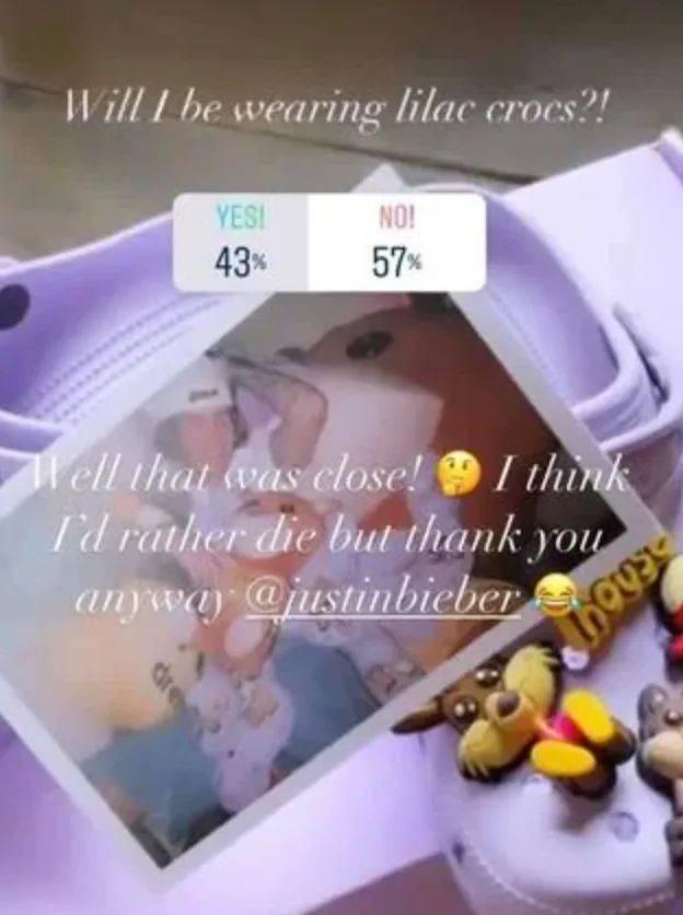 """死都不穿!贝克汉姆老婆拒穿JB丁日送的联名""""洞洞鞋"""",网友投票!"""