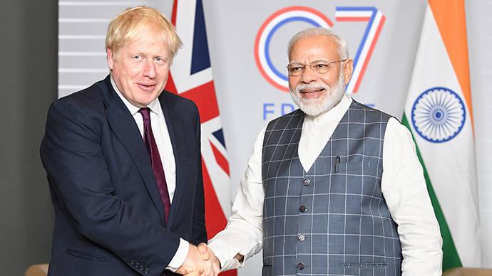 英国宣布与印度加强伙伴关系,将签署10亿英镑投资协议