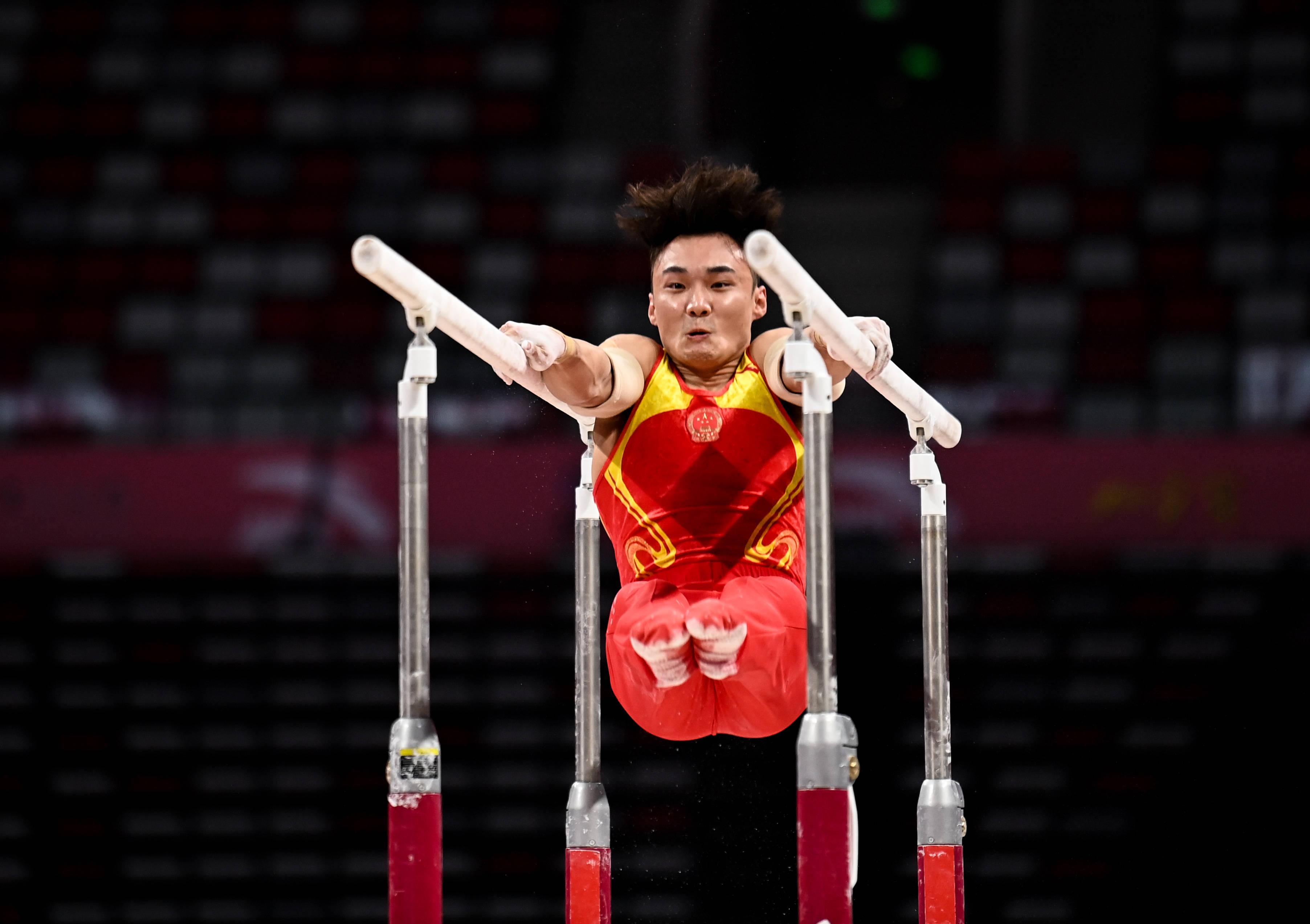 体操——全锦赛:男子团体赛况