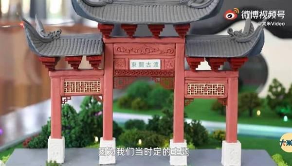 师生用面粉雕出10组扬州标志建筑:刀工精细 栩栩如生