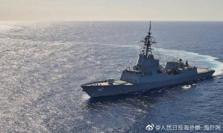 盛图注册澳大利亚军舰在美国海域撞死濒危鲸鱼 美方介入调查