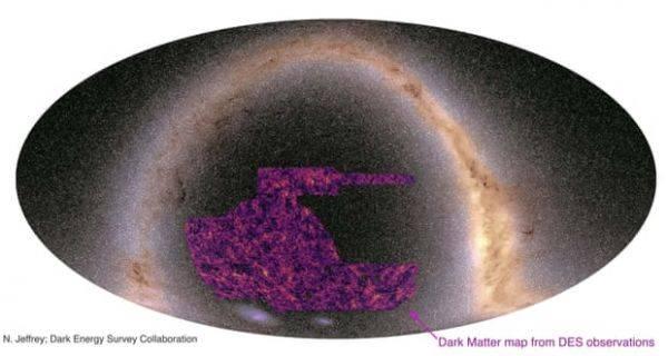宇宙暗物质分布图出炉爱因斯坦相对论遭遇挑战