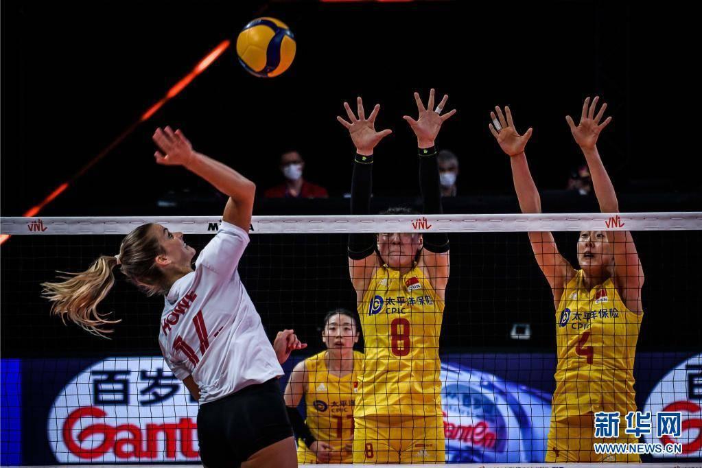 世界女排联赛:中国队不敌加拿大队插图(2)