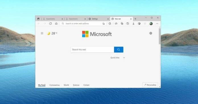 微软 Edge 浏览器原版字体渲染将回归,Win10系统下对比度更强显示更清晰