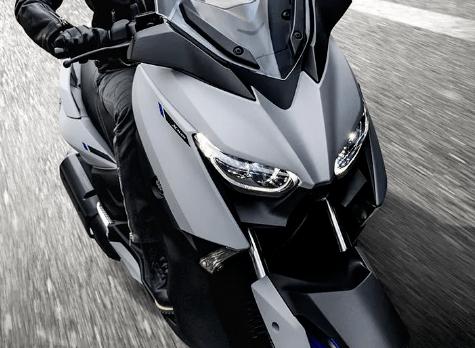 雅马哈发布新款XMAX250踏板...