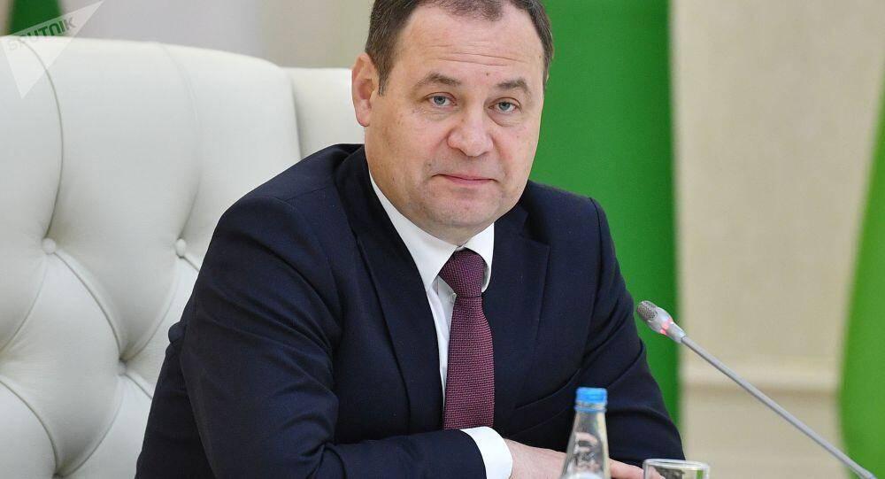 """白俄罗斯总理:明斯克有意放弃欧美技术,""""光中国技术就可替代90%的欧美技术"""" (图1)"""