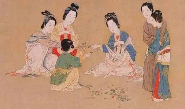 中国传世名画《汉宫春晓图》高清细赏! 365知识网