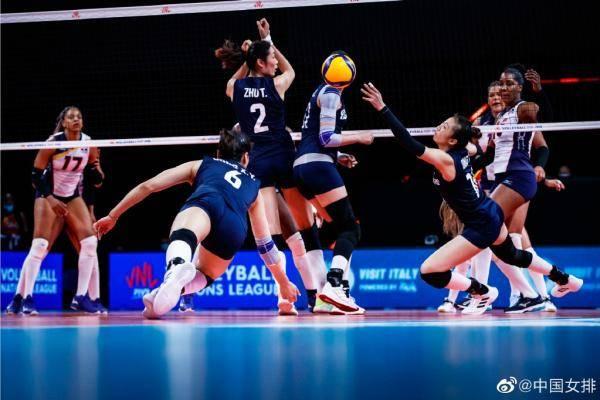 3比1击败多米尼加女排,中国女排迎来三连胜