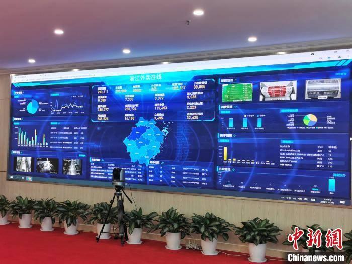 """""""浙江外卖在线""""上线:推进网络餐饮行业全方位治理"""