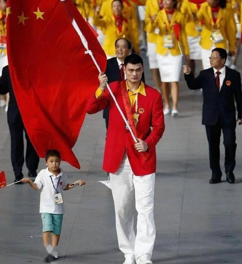 中国奥运旗手史话:NBA第一人不比赛专职扛旗_传奇娱乐注册