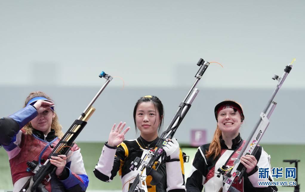 中国选手杨倩获得东京奥运会首枚金牌