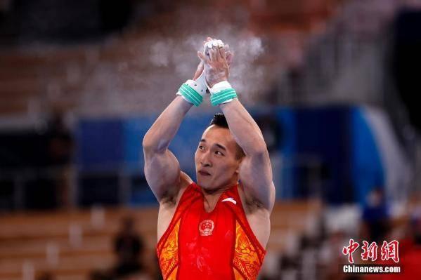 肖若腾摘得东京奥运男子体操全能银牌