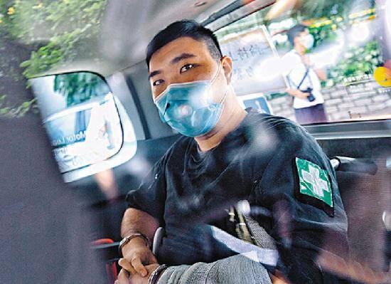 唐英杰违反香港国安法两罪共被判处9年监禁