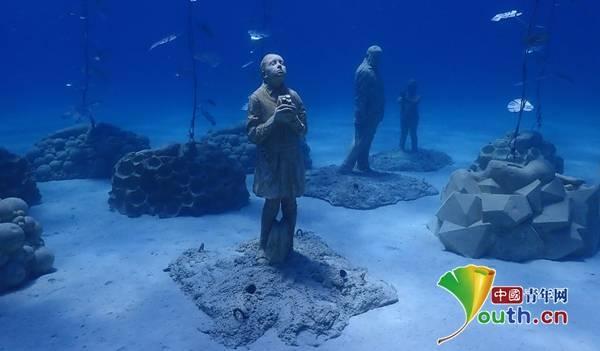 开启海底酷炫观展模式!塞浦路斯水下雕塑博物馆揭幕