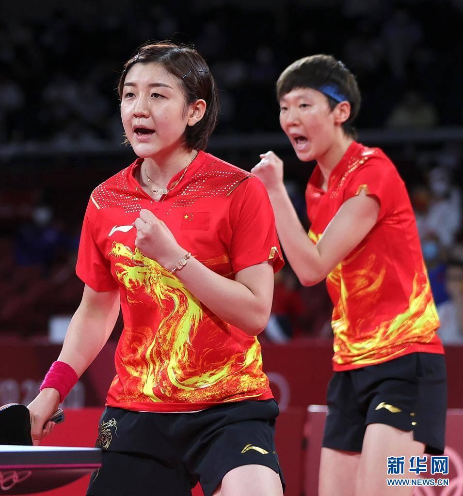 中国队获得东京奥运会乒乓球女子团体冠军