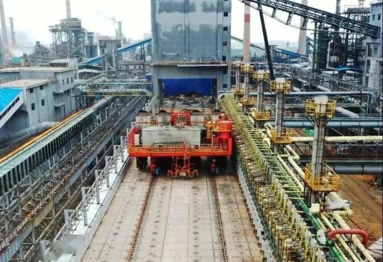 江西首座!中冶焦耐新钢项目7米焦炉成功投产!